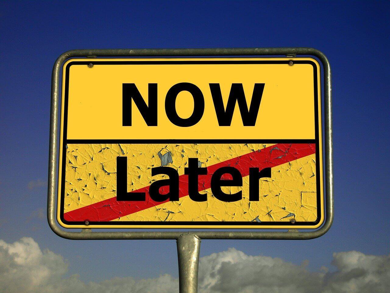 Aufschieberitis - Prokrastination - Führung lernen - Proaktiv